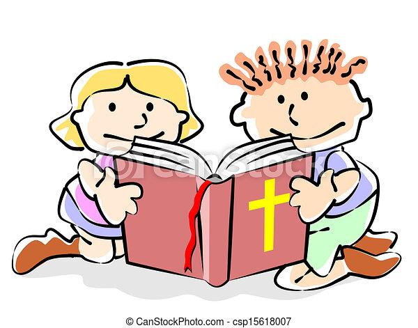 聖經, 孩子 - csp15618007