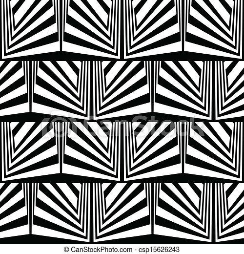 Optical Illusion Logos Optical Illusion in Black And