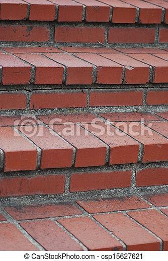 Stock fotos de ladrillo escaleras rojo ladrillo - Escaleras de ladrillo ...