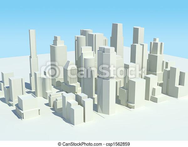 Cityscape 3 - csp1562859
