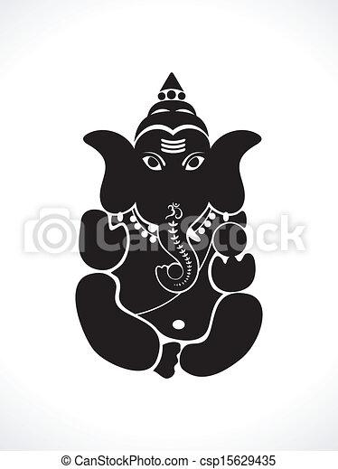 abstract ganesh chaturthi wallpaper - csp15629435
