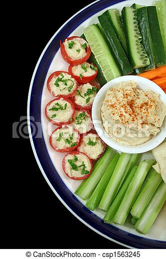 Healthy Entertaining Platter 2 - csp1563245
