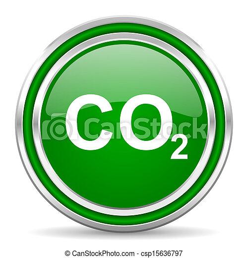 carbon dioxide icon - csp15636797