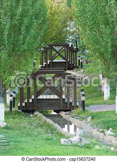An brook with bridges - csp15637240