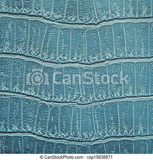 Turquoise animal skin