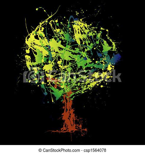 Abstract tree - csp1564078