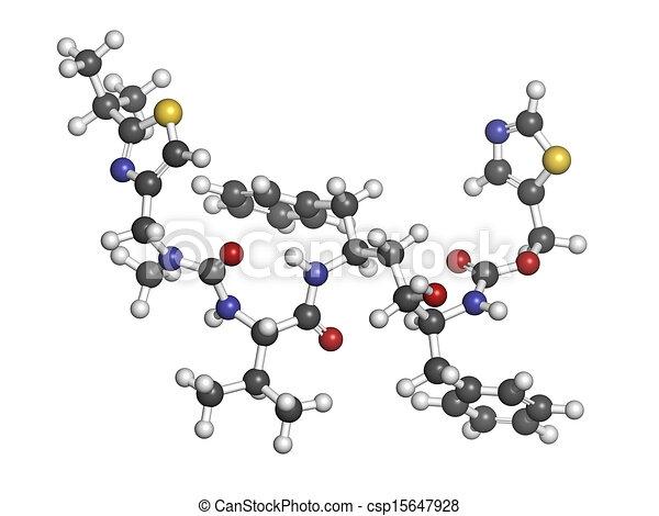 Ritonavir, HIV, 薬, protease, inhibitor, class