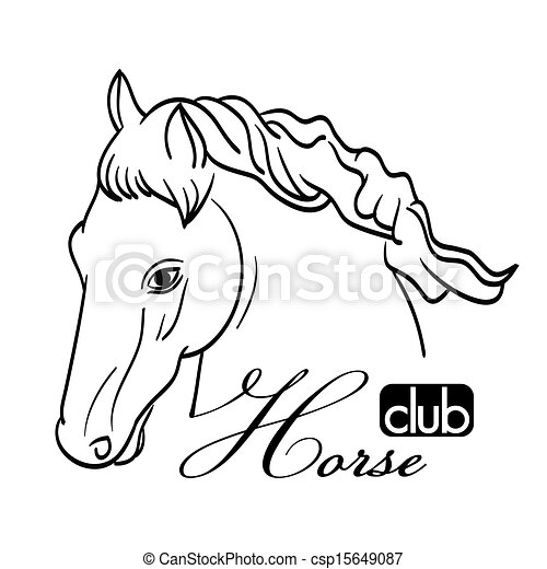 Gothic Crown Drawing besides Quoteko   zebraoutline in addition L C3 A9opard Tatouage 6042978 moreover Hobbies Clipart furthermore Hand Drawn Horse Head On White As Symbol 15649087. on tiger head clip art
