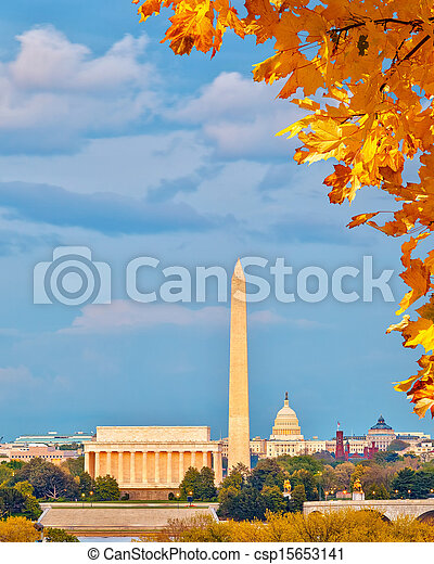 Landmarks in Washington DC - csp15653141