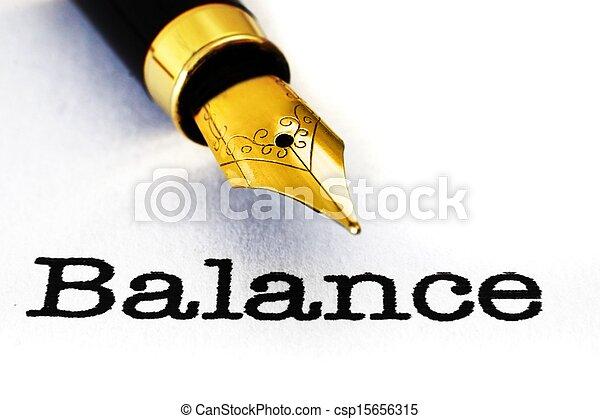 Balance - csp15656315
