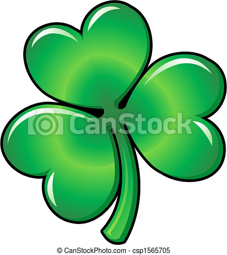Illustration of Shamrock clover - csp1565705