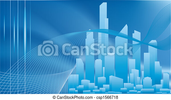 Conceptual city business background - csp1566718