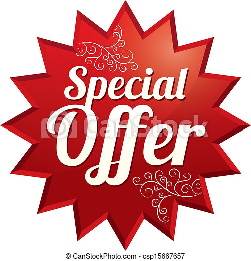 Special Offer Price Tag Vector