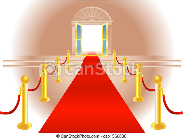 Red Carpet Entrance - csp1566836