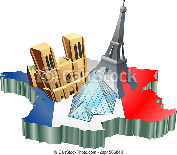 French tourism - csp1566843