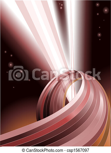 Abstract light beams background - csp1567097