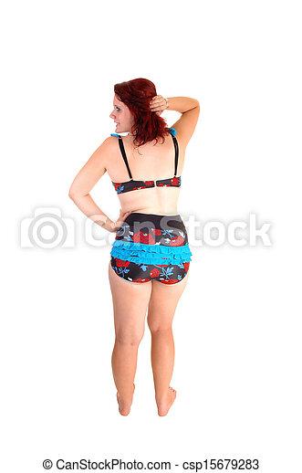 Girl in bikini. - csp15679283