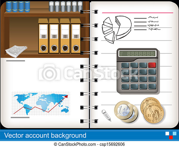 vector accounting background - csp15692606