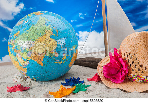 Summer beach stuff - csp15693520
