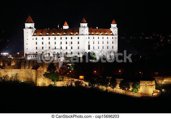 Bratislava - aerial view - csp15696203
