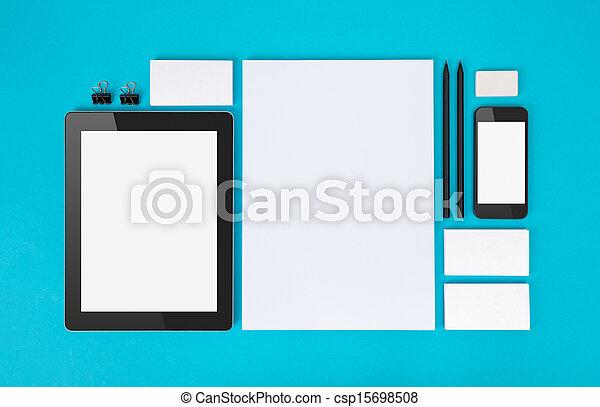 Branding identity objects - csp15698508