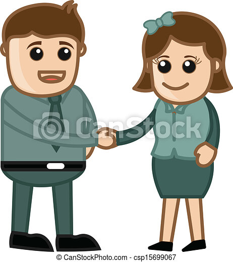 clip art vector of business handshake cartoons free clipart business handshake Free Handshake Graphic