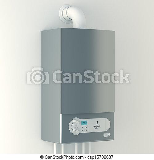 Home gas-fired boiler.  - csp15702637