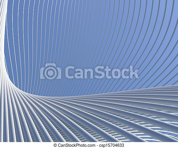 Modern fantastic architecture - csp15704633