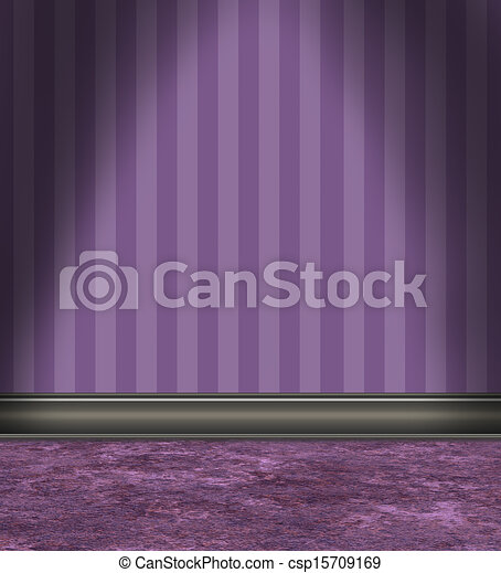 stock illustration von lila gestreift tapete zimmer. Black Bedroom Furniture Sets. Home Design Ideas