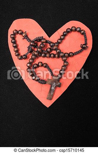 Religion and Love - csp15710145
