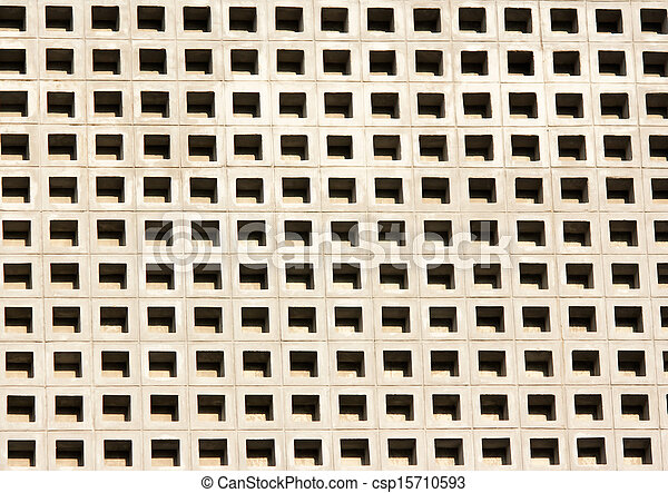 banque de photographies de perfor ciment bloc mur. Black Bedroom Furniture Sets. Home Design Ideas