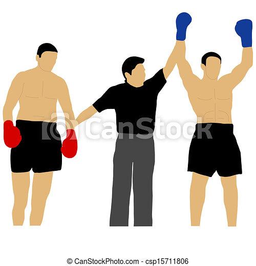 Boxing Winner Clip Art – Clipart Download