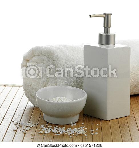 spa still life - csp1571228
