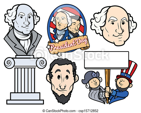 All Presidents of USA Clip Art