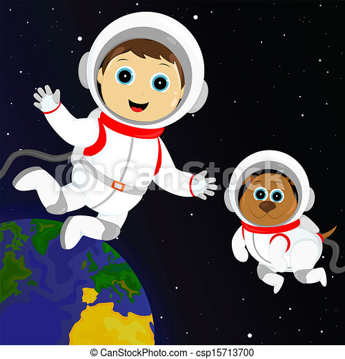 astronaut floating in space clipart - photo #10