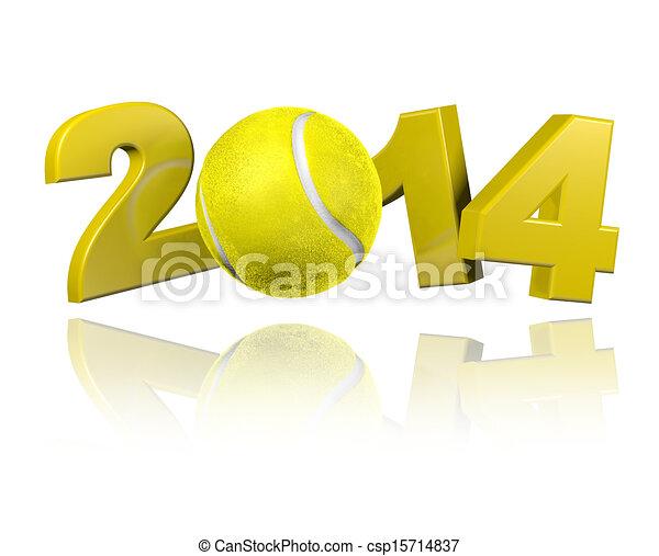 Tennis 2014 design - csp15714837