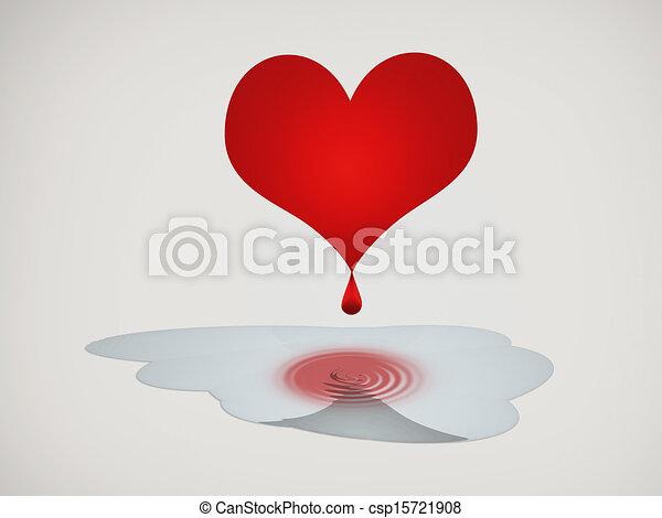 Stock Illustration of Bleeding Heart csp15721908 - Search ...