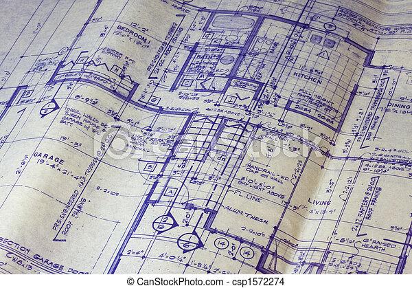 Woning Vloer Plan Bouwschets 1572274 on 28 X 40 Floor Plans