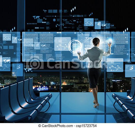 New technologies - csp15723754