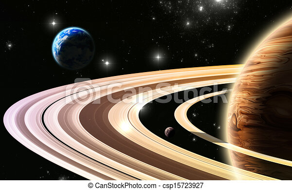 Exoplanets. World outside of our solar system - csp15723927