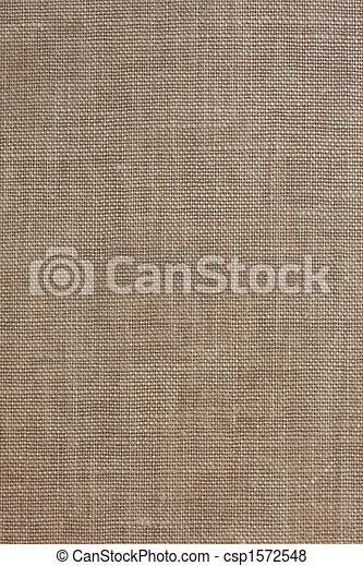 brown, coarse textile background - csp1572548