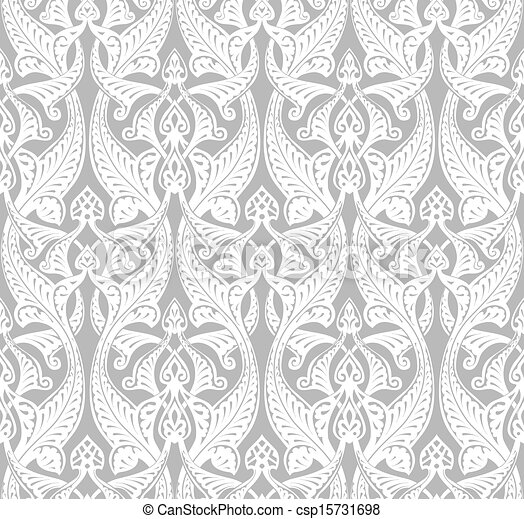Vintage Art Nouveau Background - csp15731698