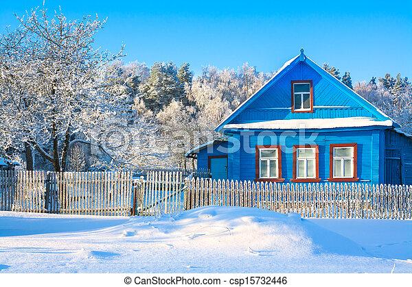 rural house - csp15732446
