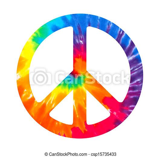 Peace sign - csp15735433