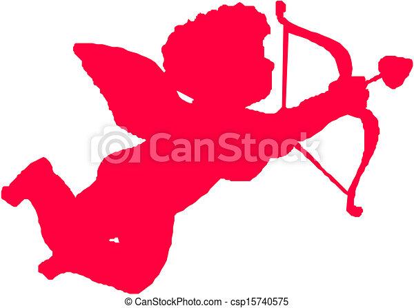 Vectors Illustration of Cute Little Cupid csp15740575 - Search ...