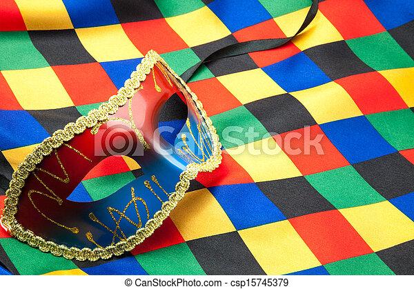 traje, arlequim - csp15745379