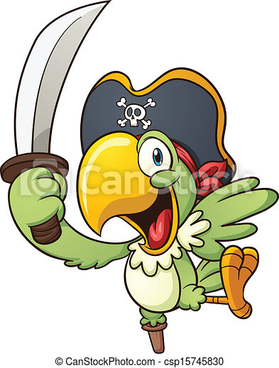 pirate perroquet