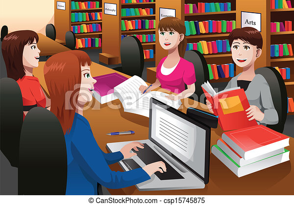 Library Stock Illustrations. 45,348 Library clip art images and ...