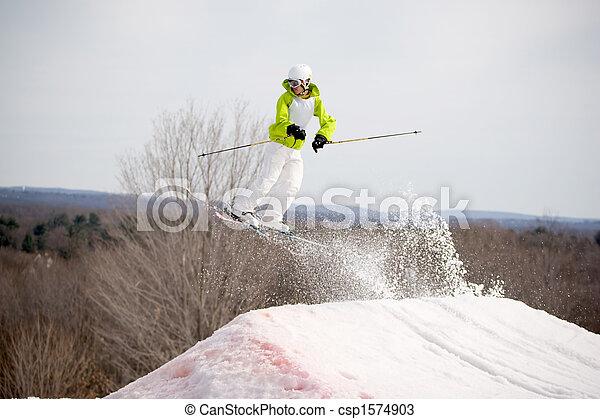 Ski Jumper - csp1574903