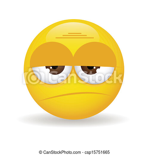 Frowny Face With Tear Sad face stock illustrationFrowny Face With Tear